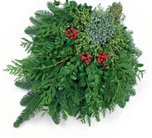 christmas swag tufel classic swag - Christmas Greens